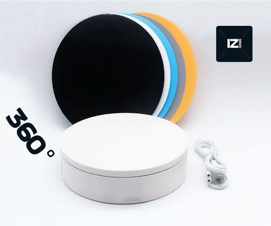 Поворотный стол 360 для предметной съемки 3D вращающийся