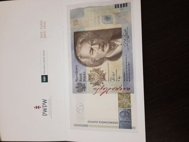 19 zł Banknot kolekcjonerski NBP