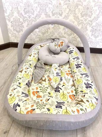 Матрас Кокон гнездышко для младенцев