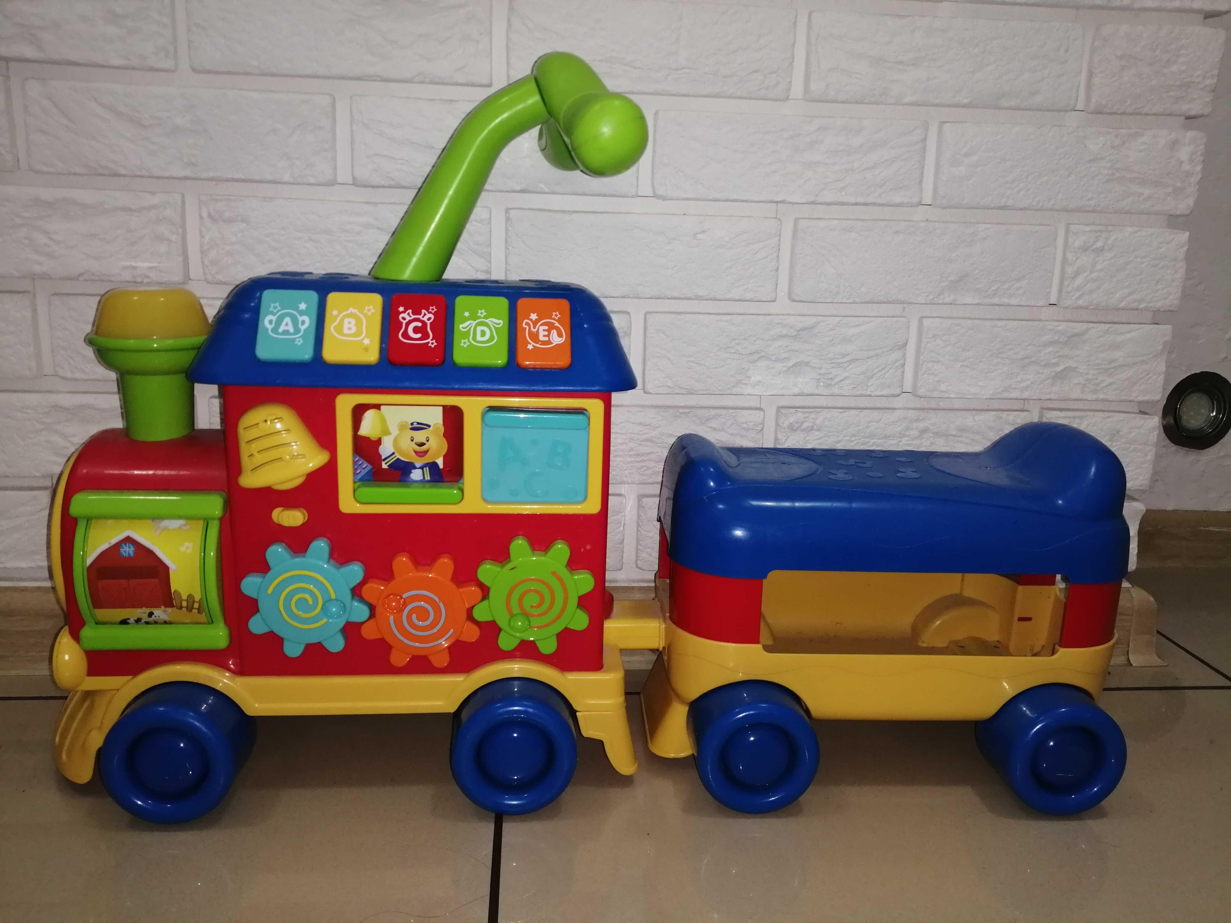 Sprzedam pchacz lokomotywa Smilly Play