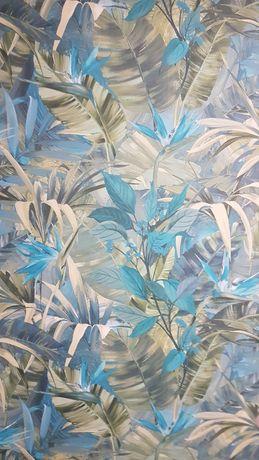 Tapeta jungle fever JF2302 rolka, zielona rosliny, liście