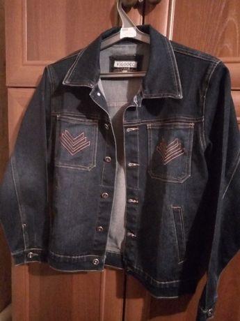 Джинсовая куртка 40 размер