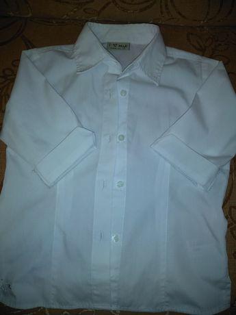 Рубашка Next для девочки три четверти рукав на 6лет