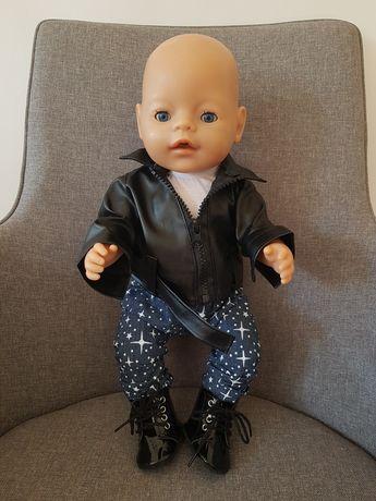 Ubranko i buty dla lalki bobas Baby Born i innych 42-46cm