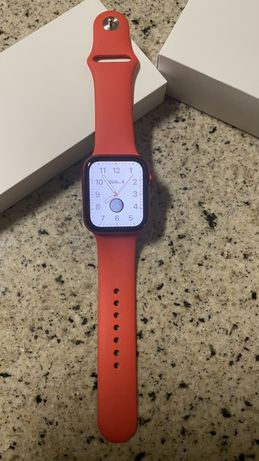 Apple watch series 6 44mm red aluminum red