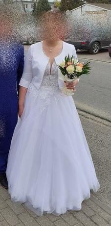 Suknia ślubna 44