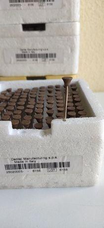 Brocas acabamento abrasivas E5 caixa 100uni esqueleticas - 1 caixa