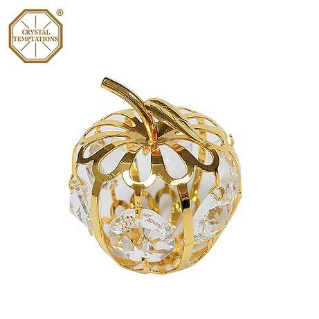 Swarovski crystal роскошный подарок, декор для дома 24k gold