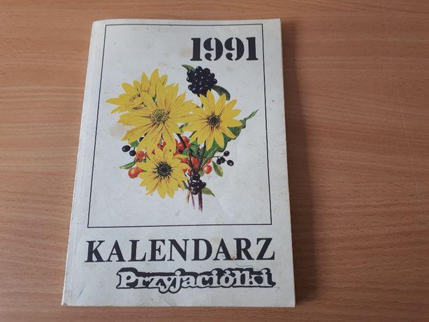 kalendarz przyjaciółki 1991