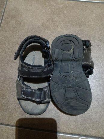 Фирменные кожаные сандали, босоножки на мальчика.
