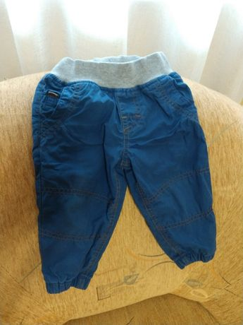 Штаны на подкладке 9-12 месяцев miniclub