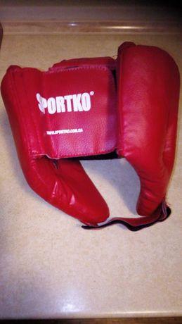 Шлем для бокса, каратэ тренировочный