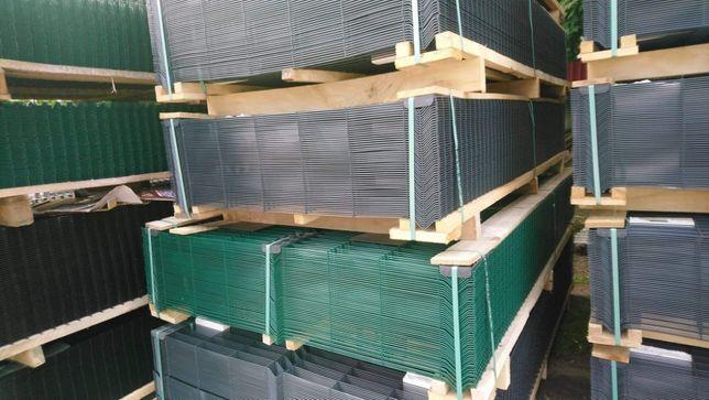 Panel Panele Ogrodzeniowe Ogrodzenia panelowe , słupki , podmurówka