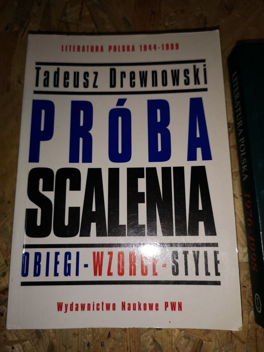 Drewnowski Próba Scalenia literatura polska Poznań - image 1
