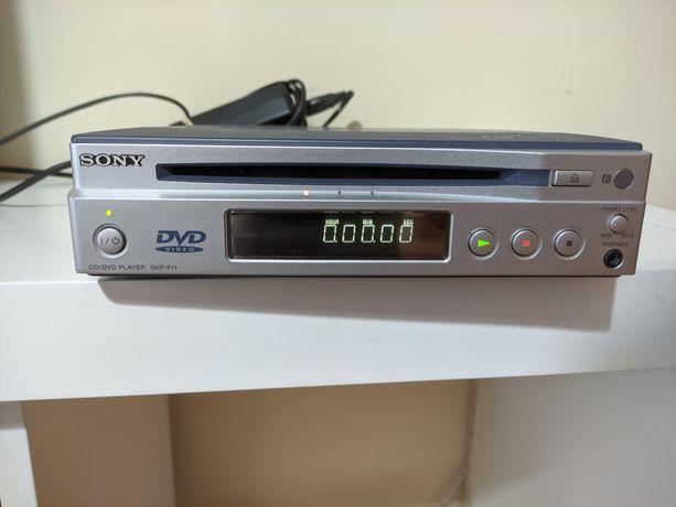 Leitor de DVD Sony DVP-F11 antigo.