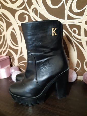 Зима ботинки сапоги 39 размер