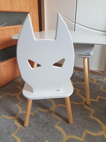 Krzesełko dziecięce drewniane