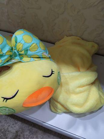 Игрушка - подушка - плед
