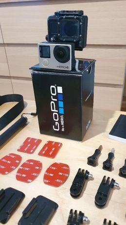 Zestaw GoPro Hero4 Silver+akcesoria+bateria zapasowa+karta pamięci