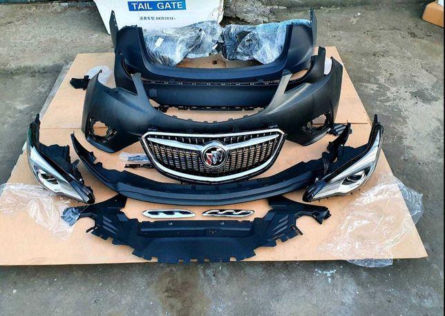 Buick Envision бампер решетка капот