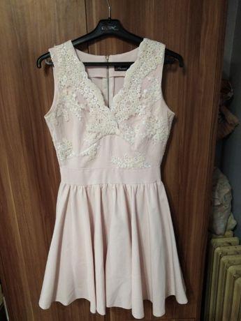 sukienka na wesele chrzciny komunie r36