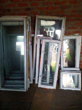 Вікна дерев'яні б/у на парник