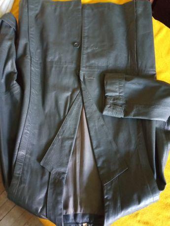 Пиджак кожаный. Платье женское трикотажное Дания