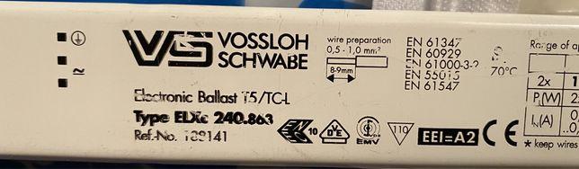 Statecznik elektroniczny Vossloh Szwabe 2 x 24W 39W