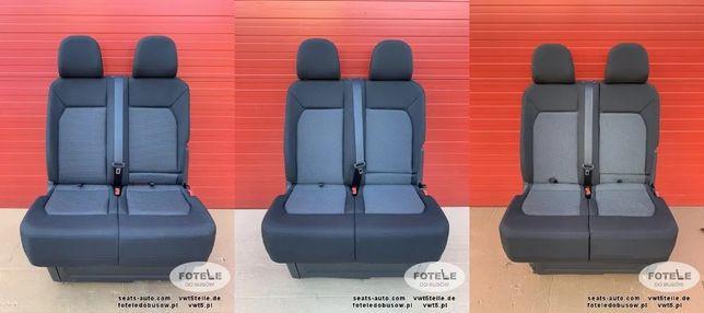 WYMIANA - FOTEL Pasażera Kanapa VW Crafter II MAN TGE 2016-20 fotela