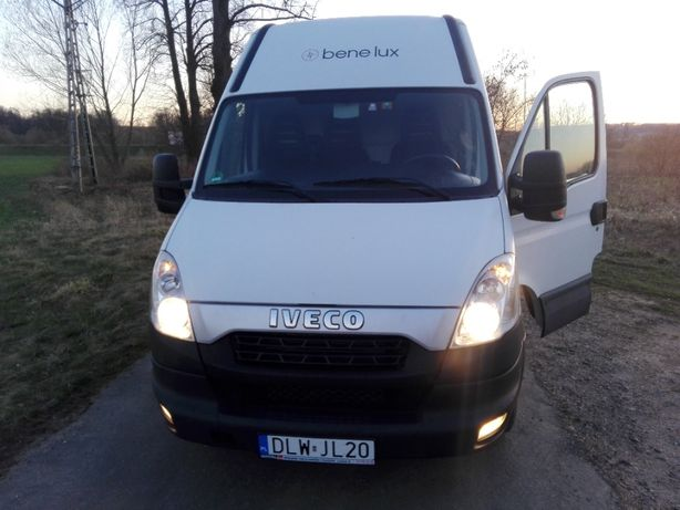 wynajem BUS dostawczy Iveco Maxi HAK 3,5T