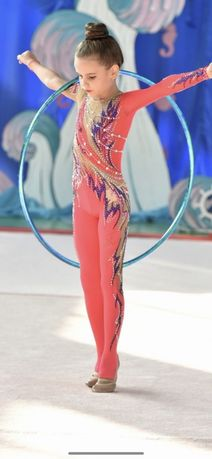Купальник комбинезон для художественной гимнастики