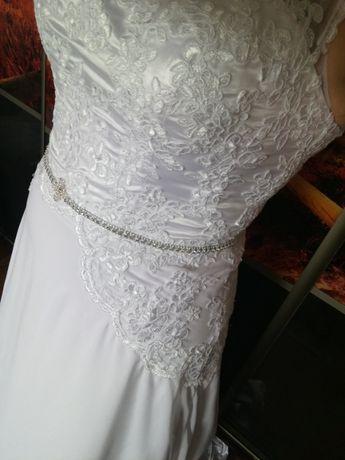 Suknia ślubna 44/ 46 na 178cm wzrostu