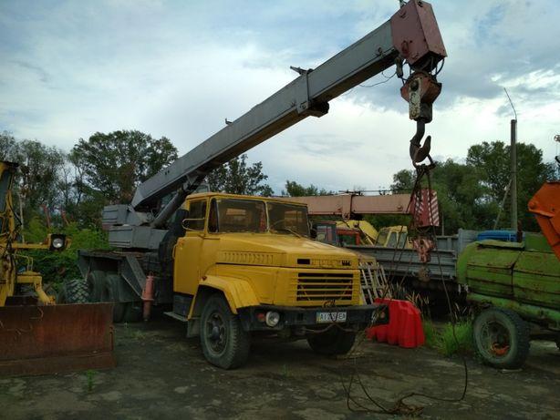 Продам Автокран КрАЗ КС 3575 А Киев 14т 15,5м стрела кран 250