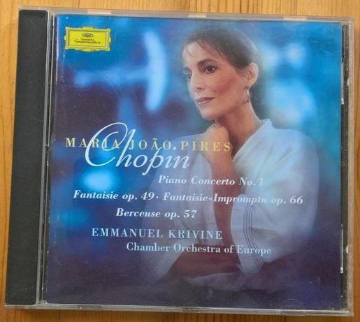 Chopin - Concerto Piano nº 1 (Mª J. Pires) CD