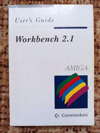 Komputar Amiga - Workbench 2.1 - podręcznik użytkownika bdb stan