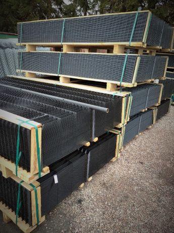 panel ogrodzenie podmurówka panele