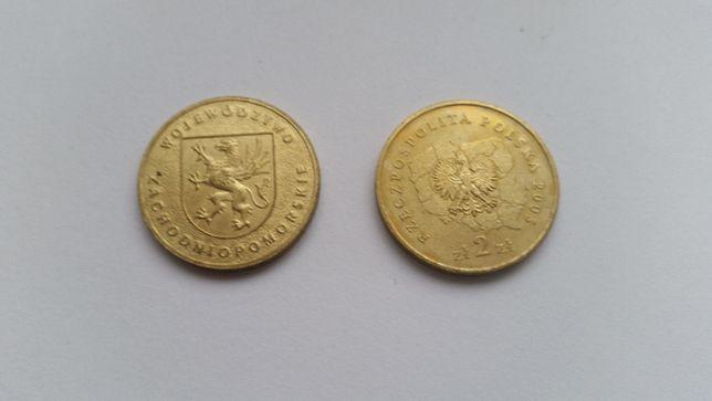 Polska 2 złote, 2005 rok - Województwo zachodniopomorskie