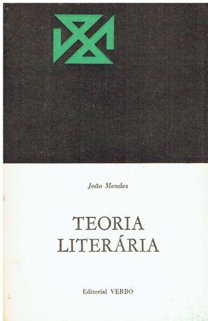 7830 Teoria Literária de João Mendes