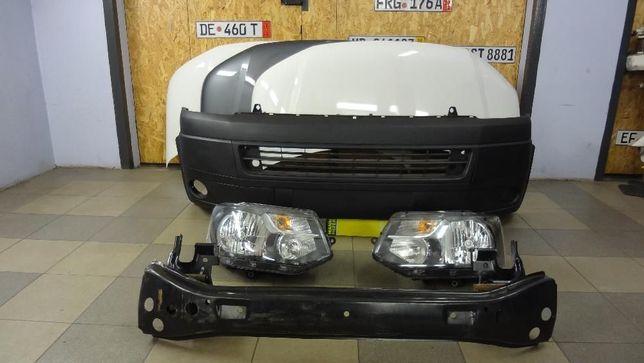 Передок морда Т5 VW Т5 Т6 Капот бампер фары Разборка Т5 Запчасти Т5 Т6