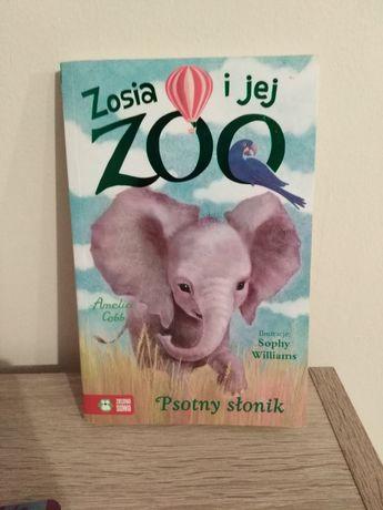Książka Zosia i jej zoo psotny słonik