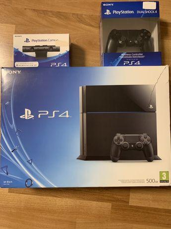 PlayStation 4 oraz PlayStation Camera i gry