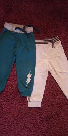 Spodnie dresowe 98 Coccodrillo + spodnie dresowe 5-10-15