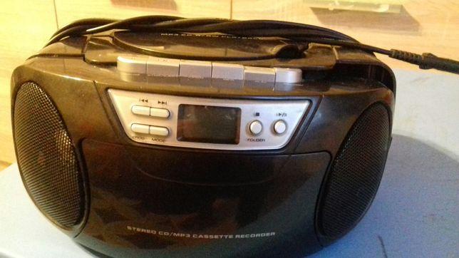 Magnetofon, radio, cd, bumbox.