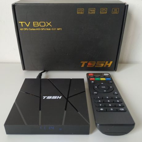 TV BOX Android 10 6K | 1+8G (2+16G | 4+32/64G) | T95H