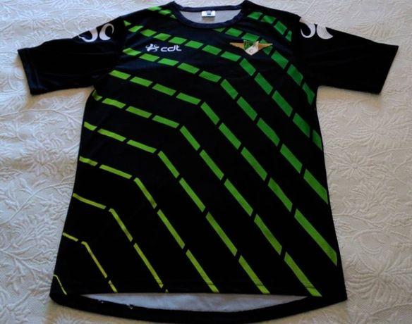camisola de treino do Moreirense Futebol Clube epoca 2015/2016