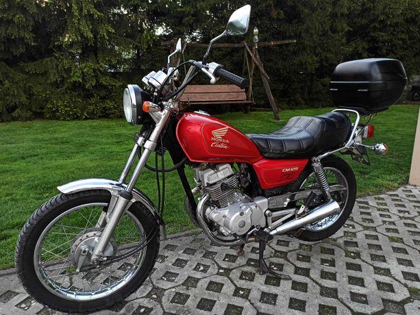 Honda CM Custom 125 Kat. B, A1 1997r *Ładny stan*Klasyk* (rebel)