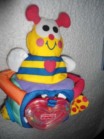 мягкая развивающая игрушка Фишер прайс