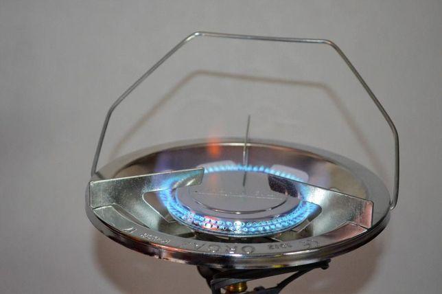 Kuchenka turystyczna nakręcana gazowa, palnik gazowy