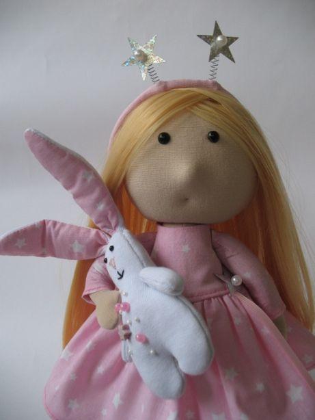 Кукла ручной работы. Интерьерная кукла. Подарок для девочки.
