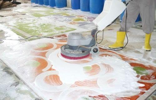 Стирка ковров, химчистка